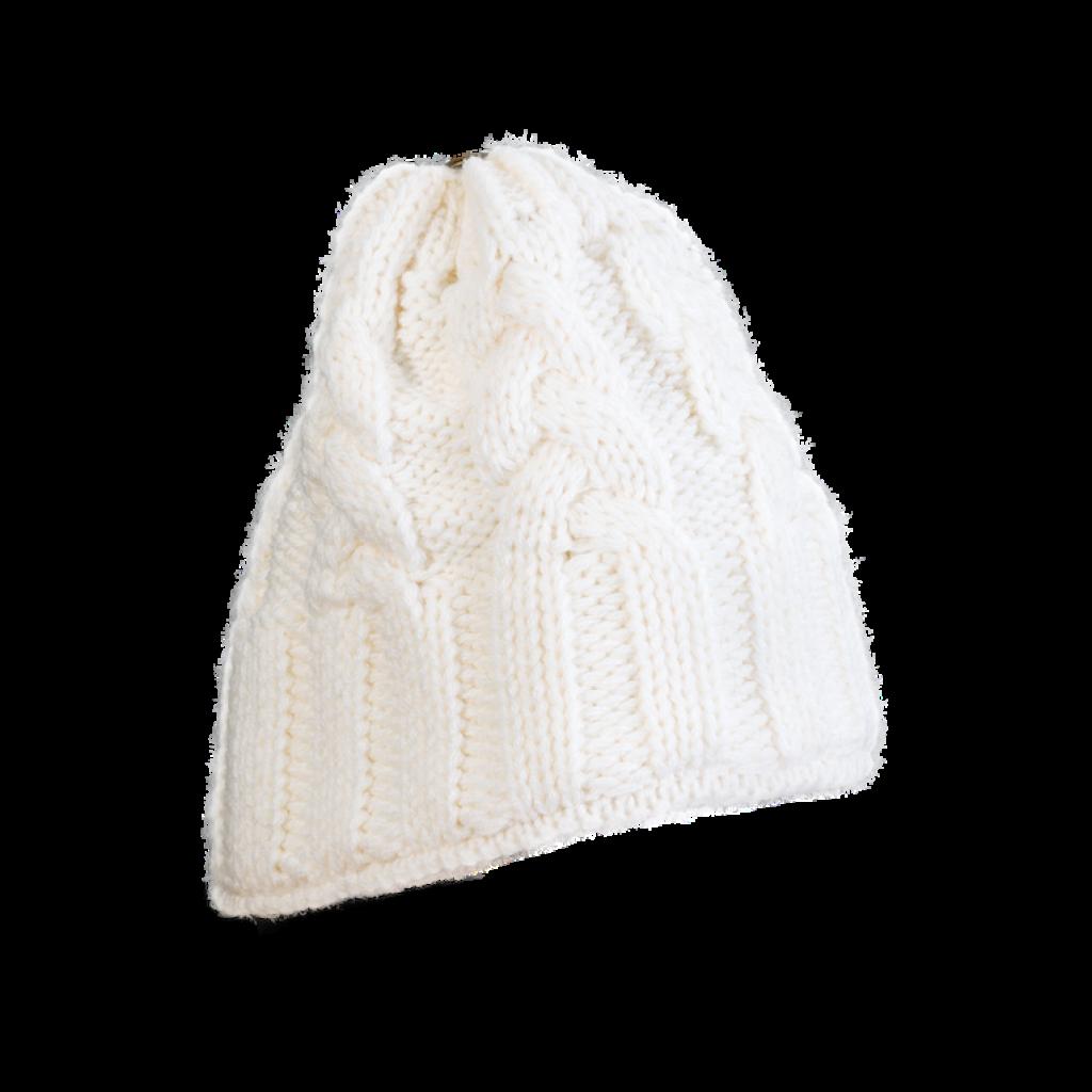Mütze Gablonz (Wolle weiß 100)