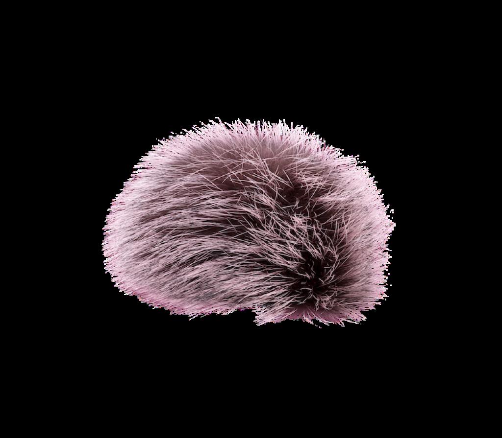 Bommel Echtfell (Naturfell pink sorbet)