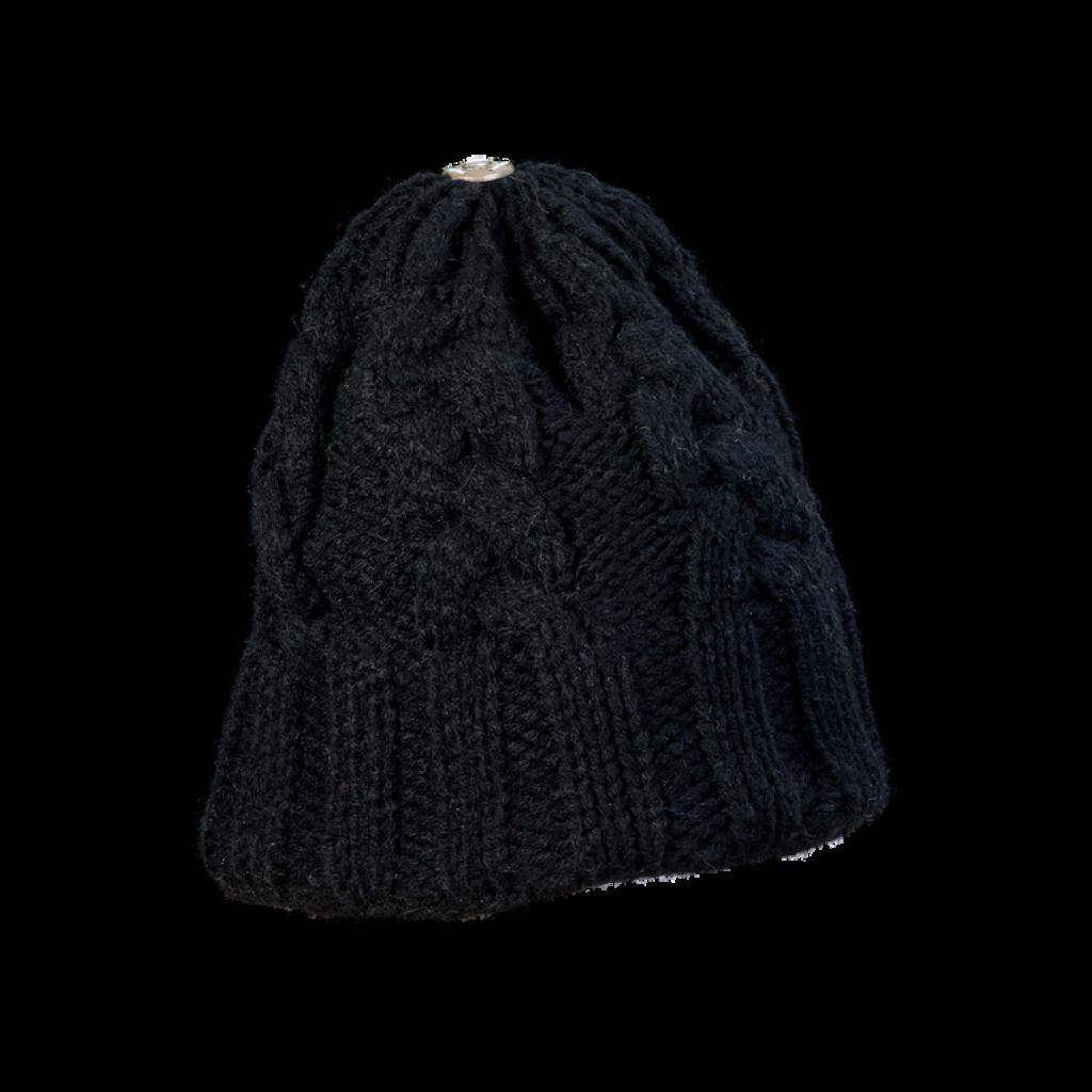 Mütze Gablonz (Wolle schwarz 999)