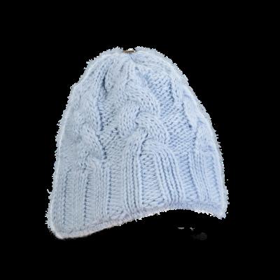 Mütze Gablonz (Wolle hellblau 501)