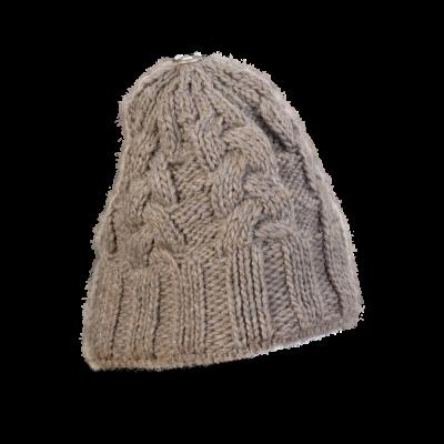Mütze Gablonz (Wolle braun 300)