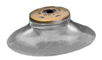 Kunststoff-Sauger für Bommel Befestigung (Der Helm Bommel Halter)