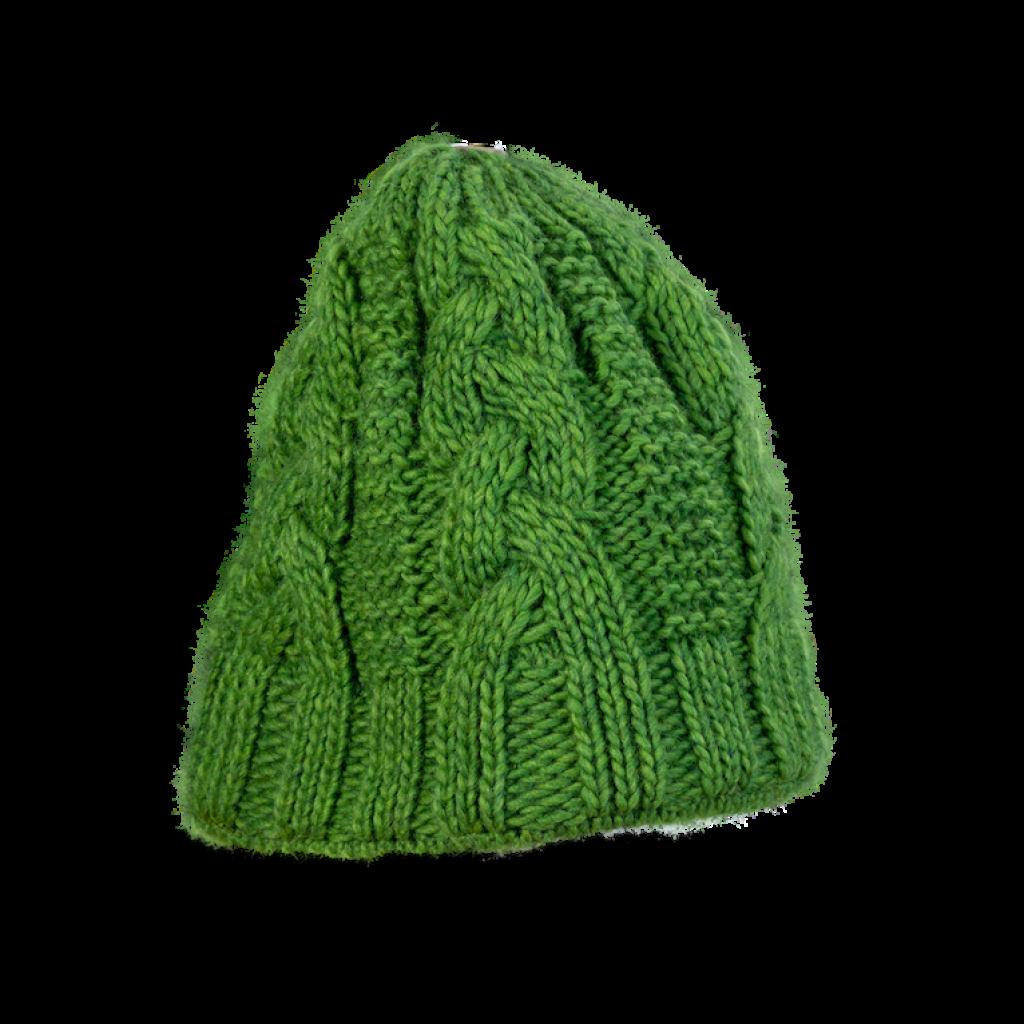 Mütze Tanvald (Alpaka grün 411)