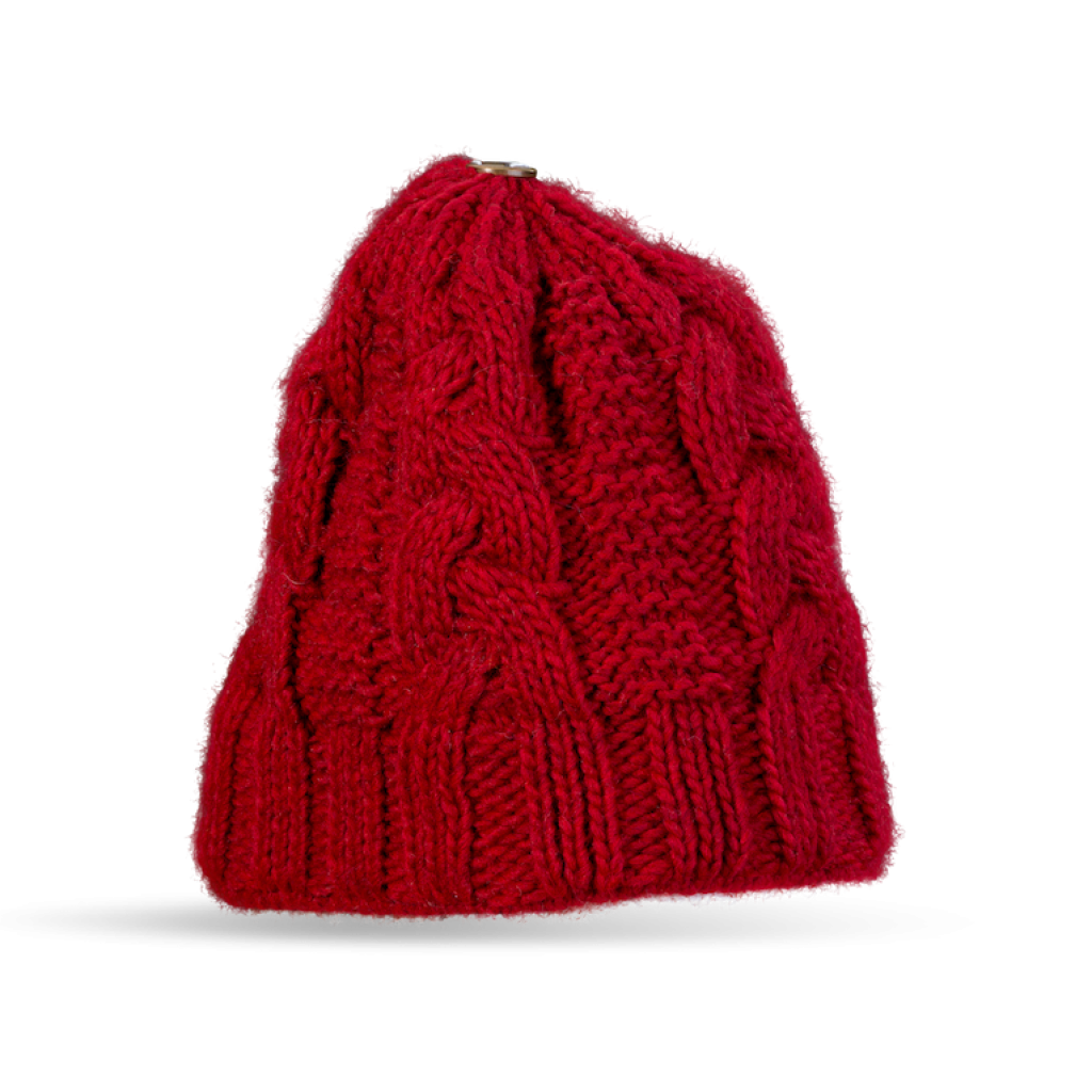 Mütze Tanvald (Alpaka weinrot 604)