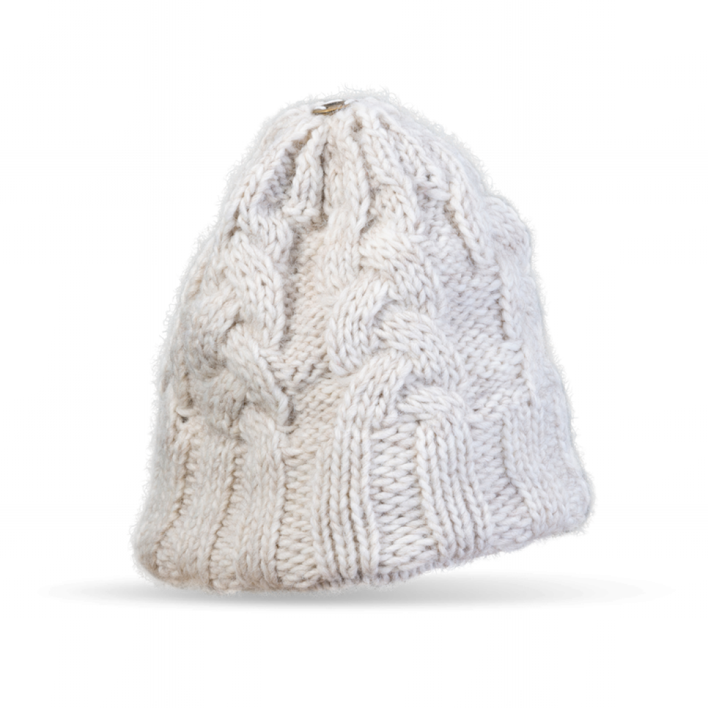 Mütze Gablonz N (Wolle 206 ecru)