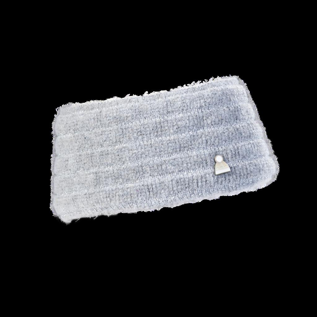 Stirnband Dust (Chenille siber 867)