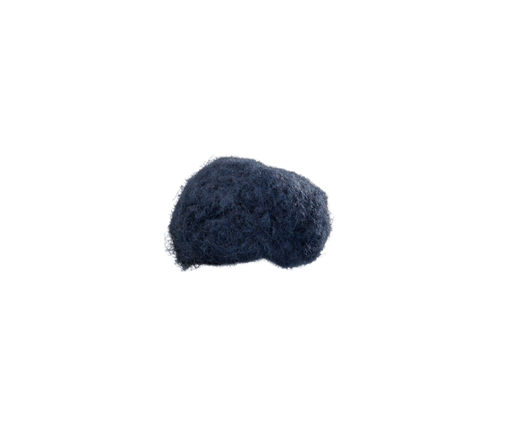 Bommel Dust (Chenille dunkelblau 818)