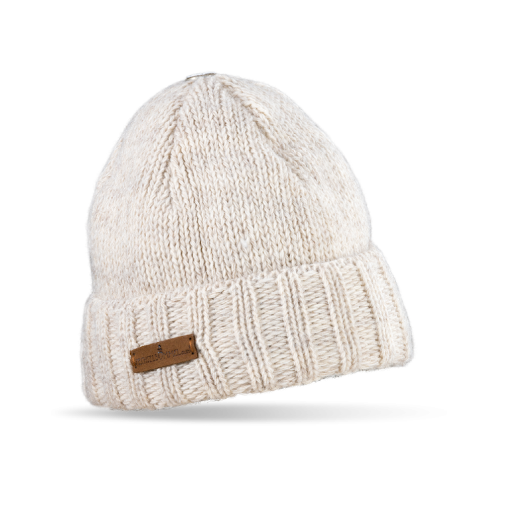 Mütze Liebenau (Wolle ecru 113)