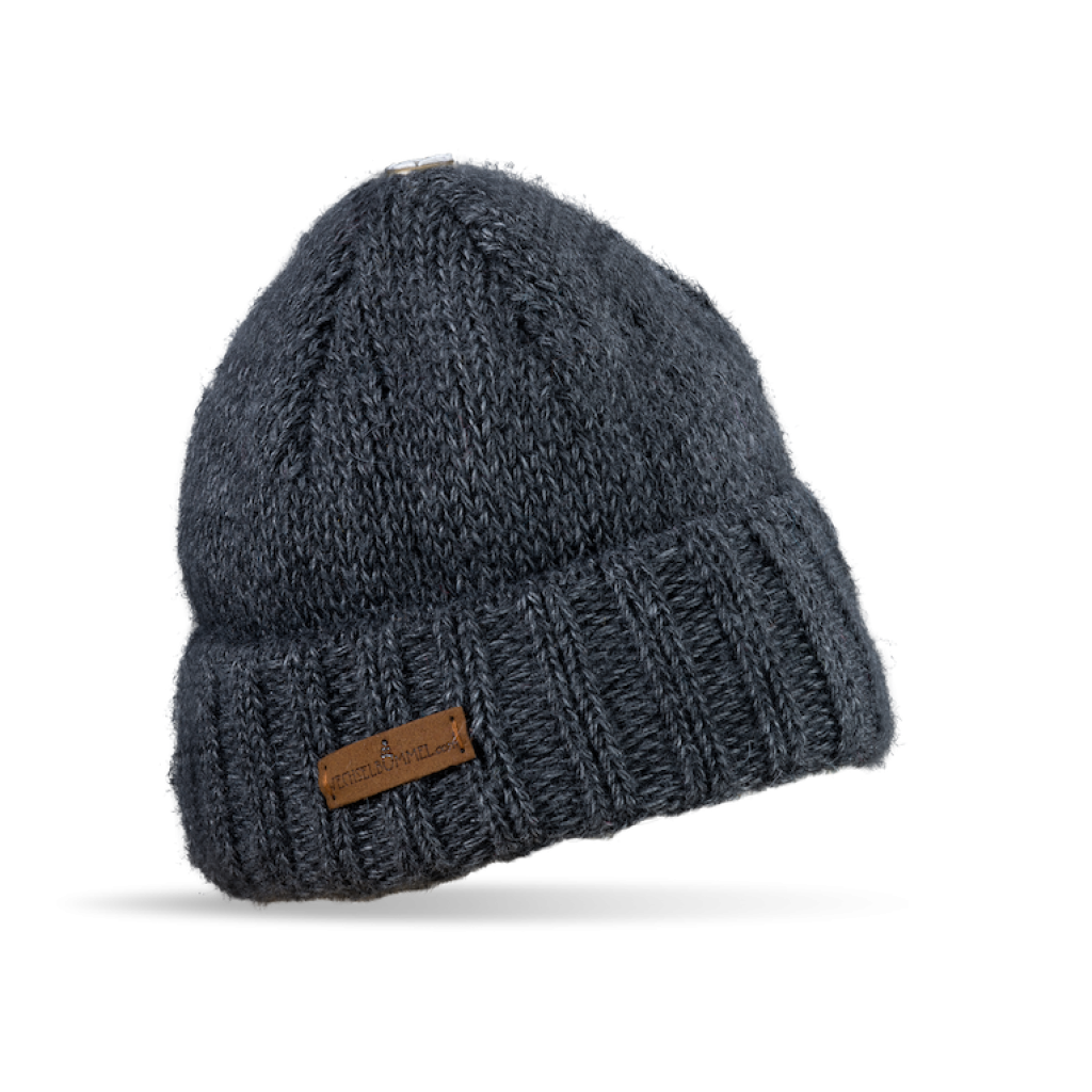 Mütze Liebenau (Wolle dunkel grau 908)