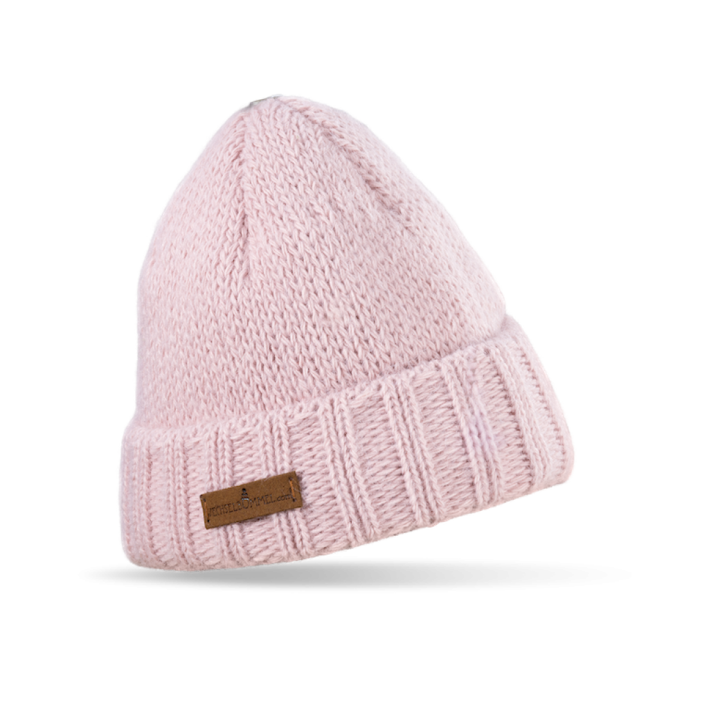 Mütze Liebenau (Wolle rosé 824)