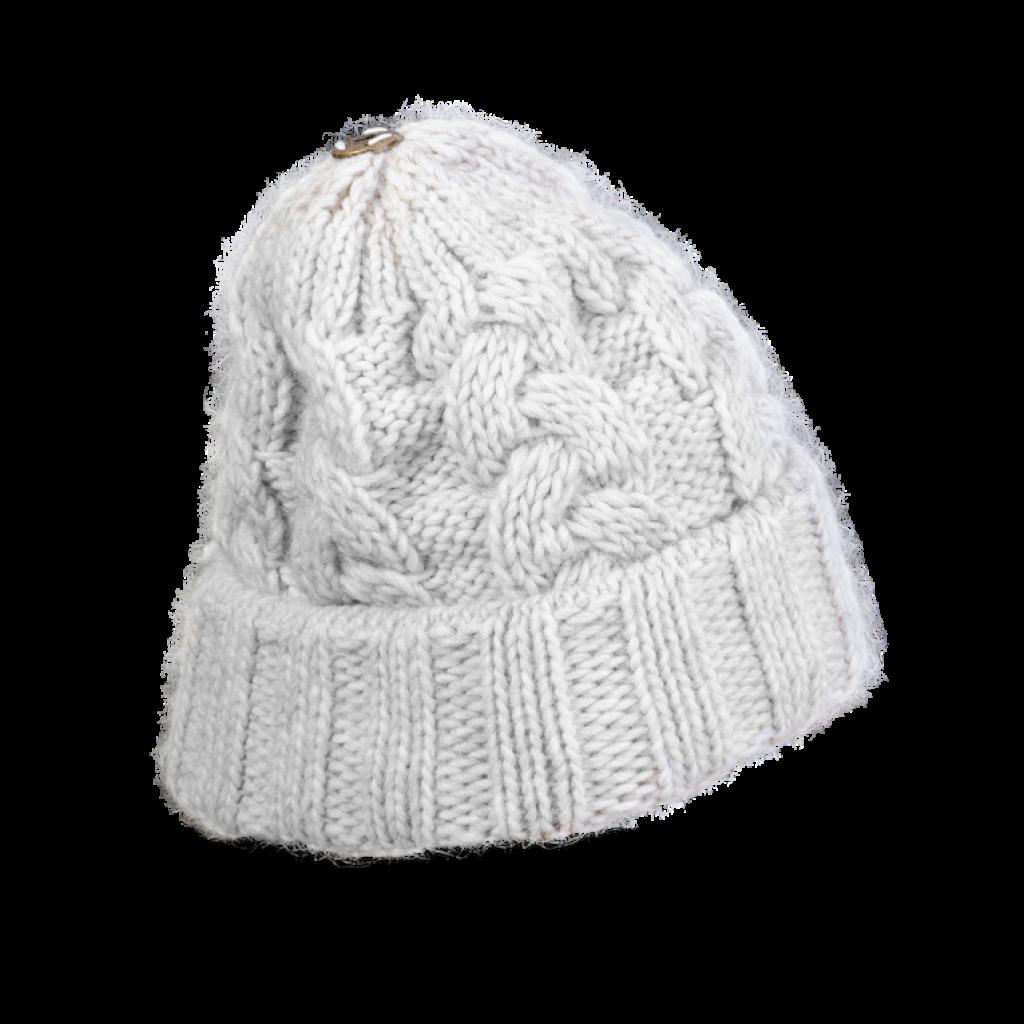 Mütze Gablonz U short (Wolle ecru 206)