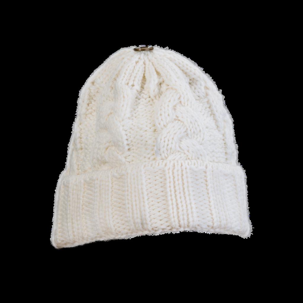 Mütze Gablonz U (Wolle weiß 100)
