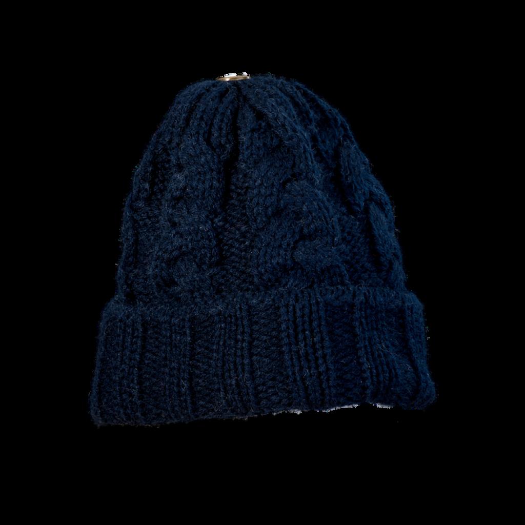 Mütze Gablonz U (Wolle dunkel blau 506)
