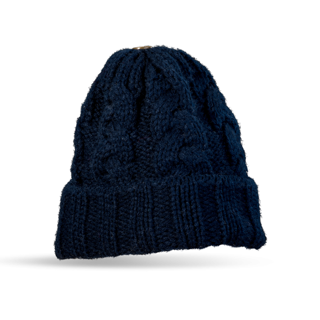 Mütze Gablonz U short (Wolle dunkel blau 506)
