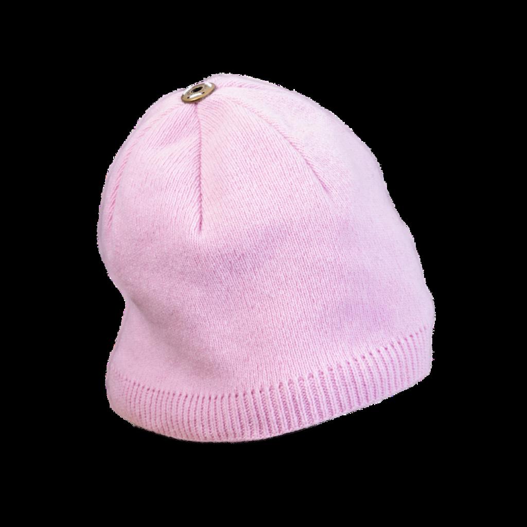 Mütze Wurzelsdorf (Wolle rosa 827)