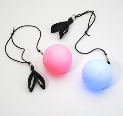 Poi Leucht Ball (2 Leuchtbälle)