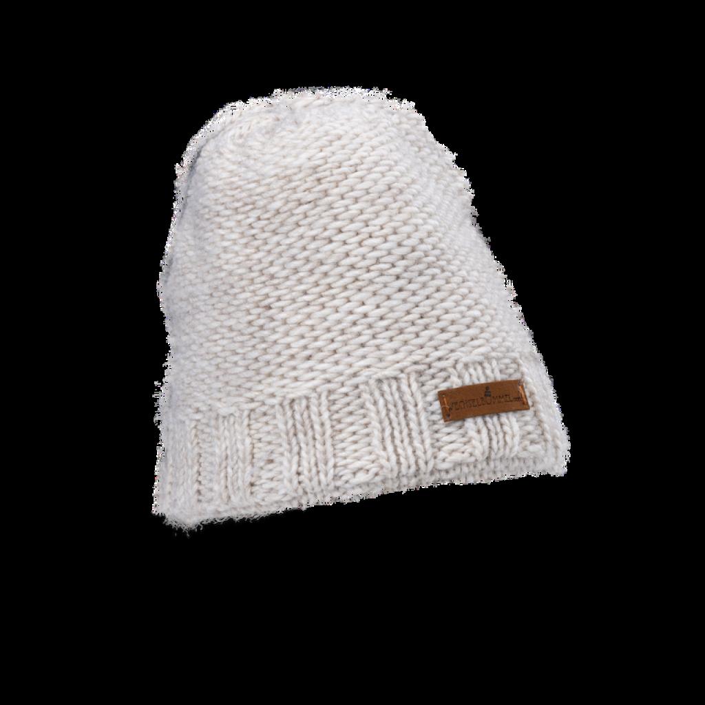 Mütze Donovaly short (Wolle ecru 206)