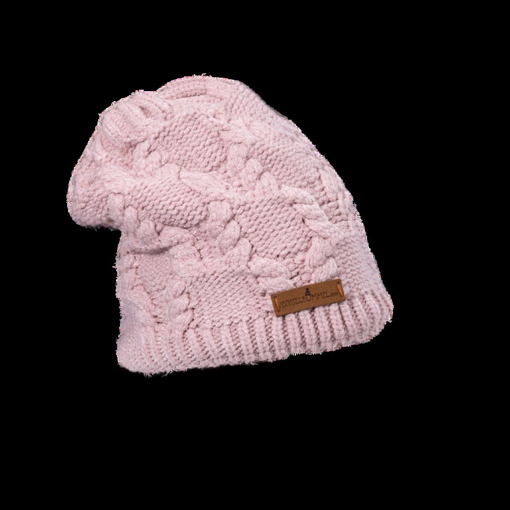 Mütze Marina (Soft Touch creme rose 826)