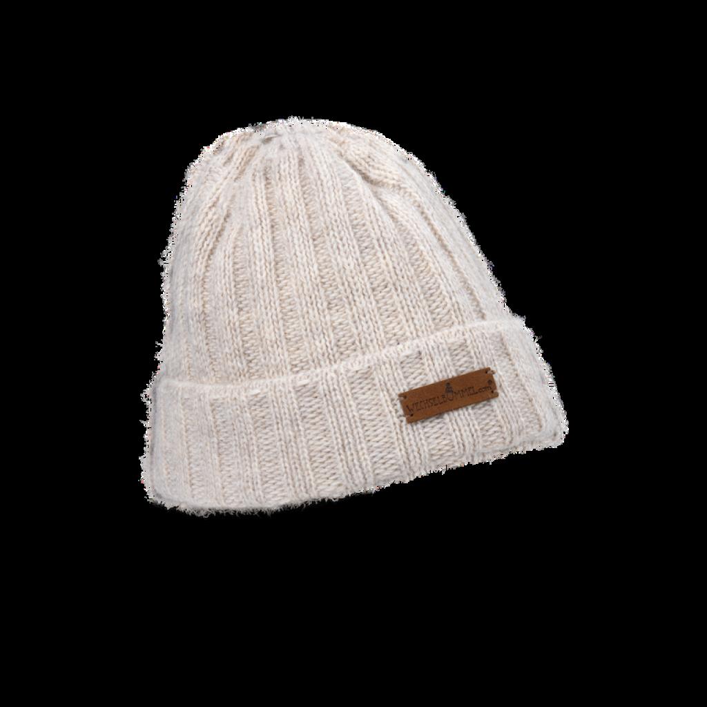 Mütze Franzi  (Wolle beige 207)