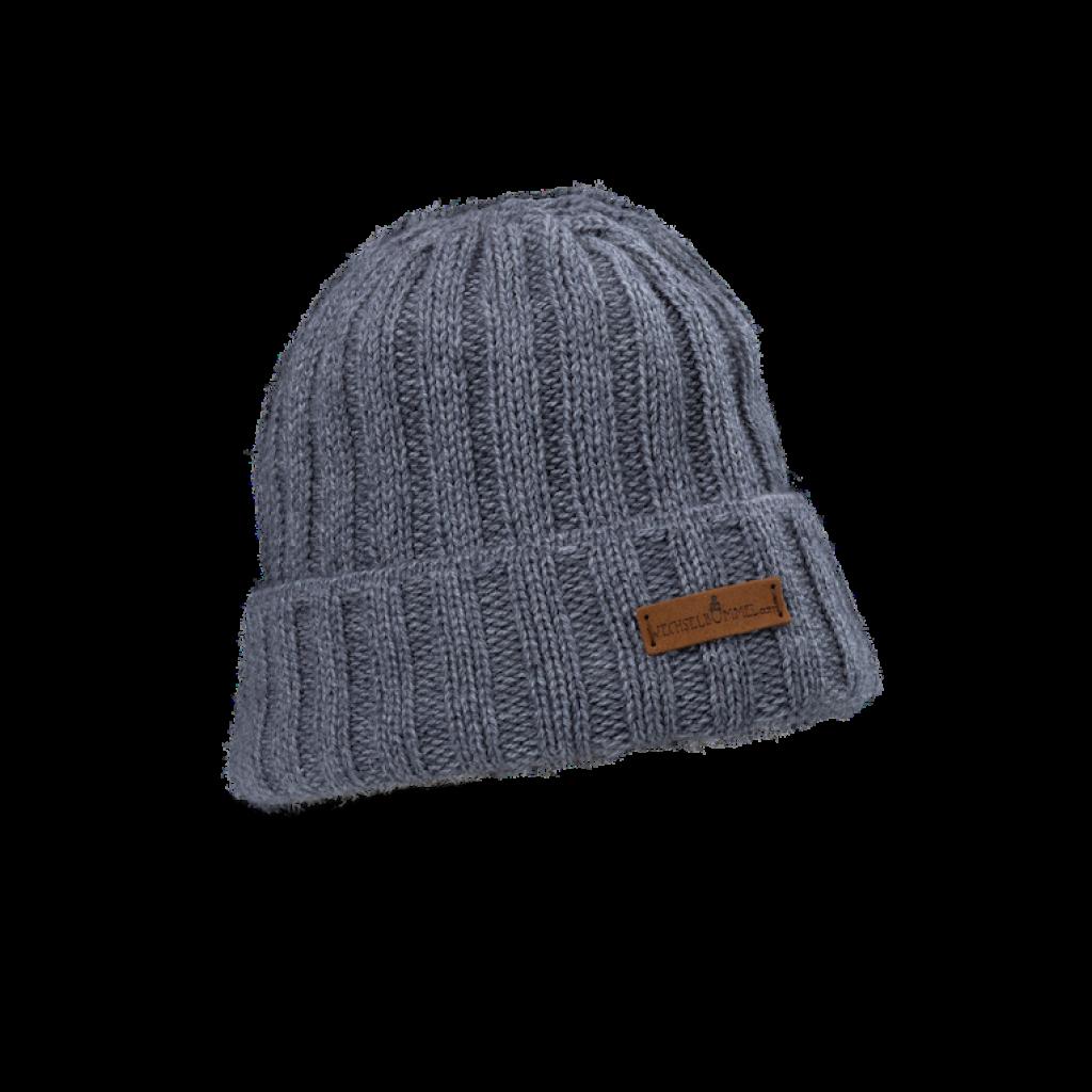 Mütze Franzi  (Wolle antra creme 804)