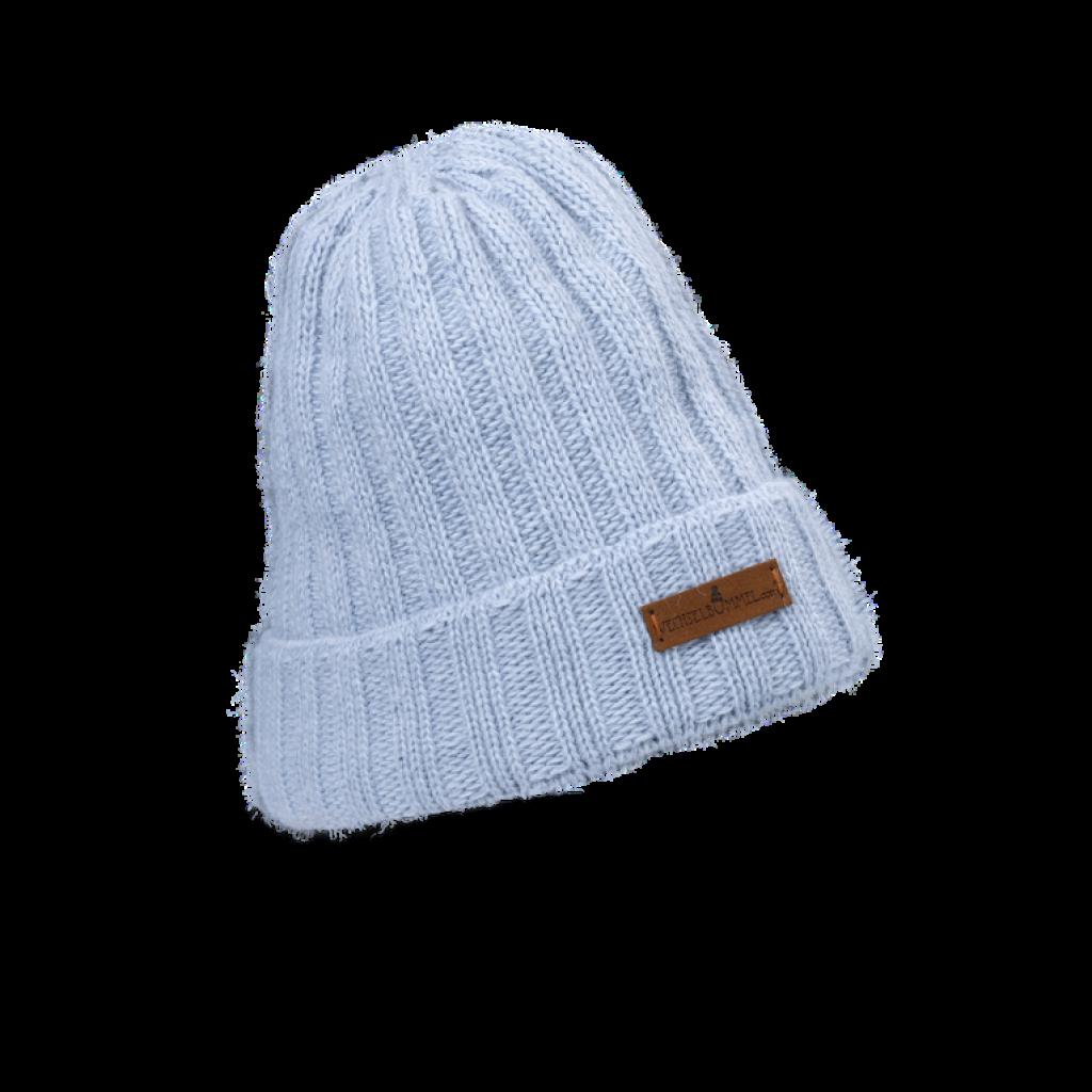 Mütze Franzi  (Wolle hellblau 501)
