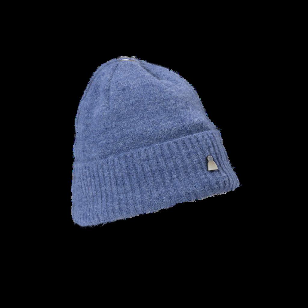 Mütze Dust U  (Chenille rauch blau 503)