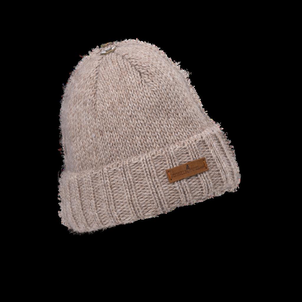 Mütze Liebenau (Wolle beige 207)