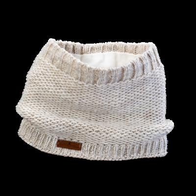 Tunnel Schal (Wolle 206 ecru)