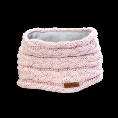 Tunnel Schal Q (Wolle 202 alt rosé)
