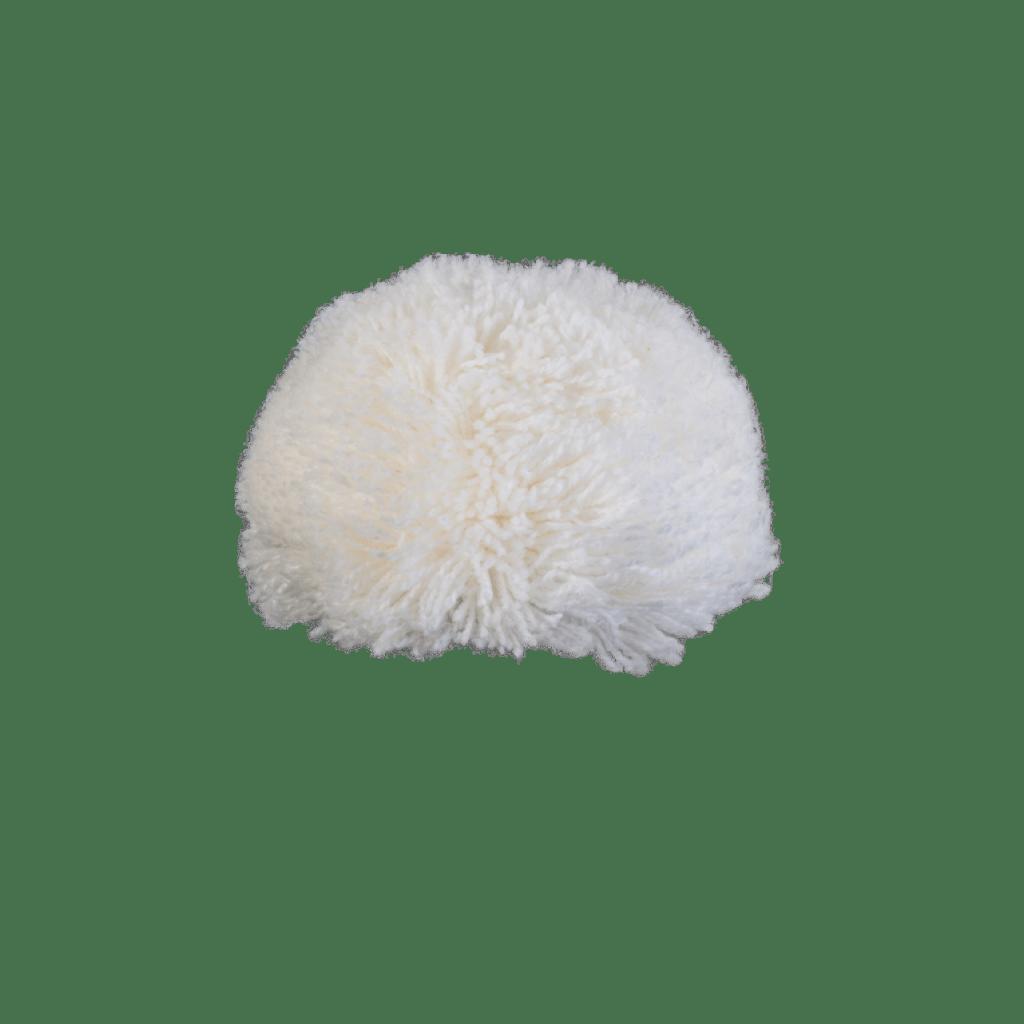 Bommel Gablonz (Wolle weiß 100)