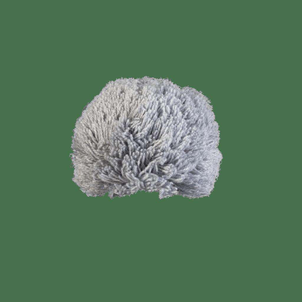 Bommel Gablonz (Wolle hellgrau 902)
