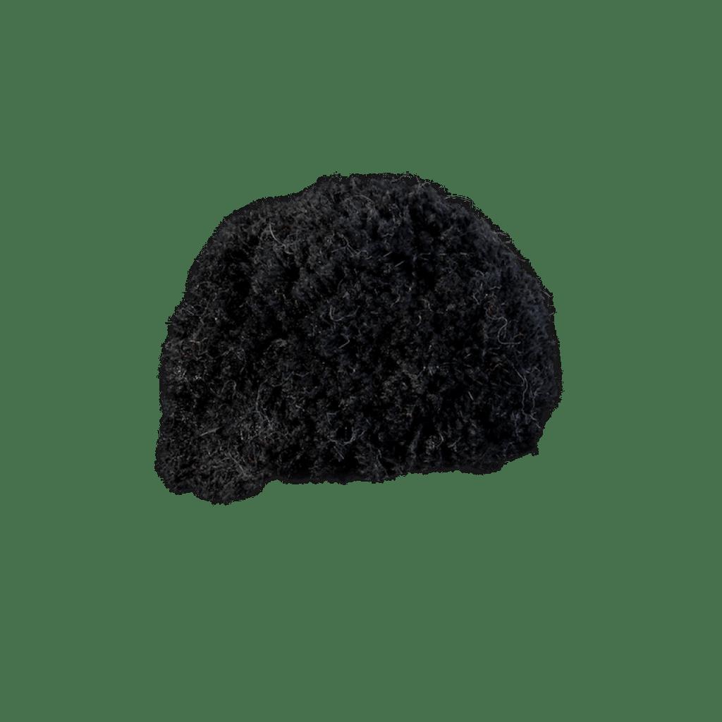 Bommel Gablonz (Wolle schwarz 999)