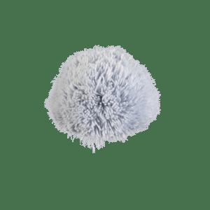 Bommel Gablonz (Wolle hellblau 501)