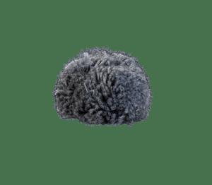 Bommel Gablonz (Wolle dunkel grau 906)