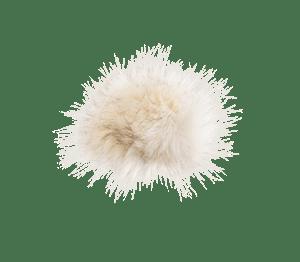 Bommel Kunstfell (Kunstfell creme)