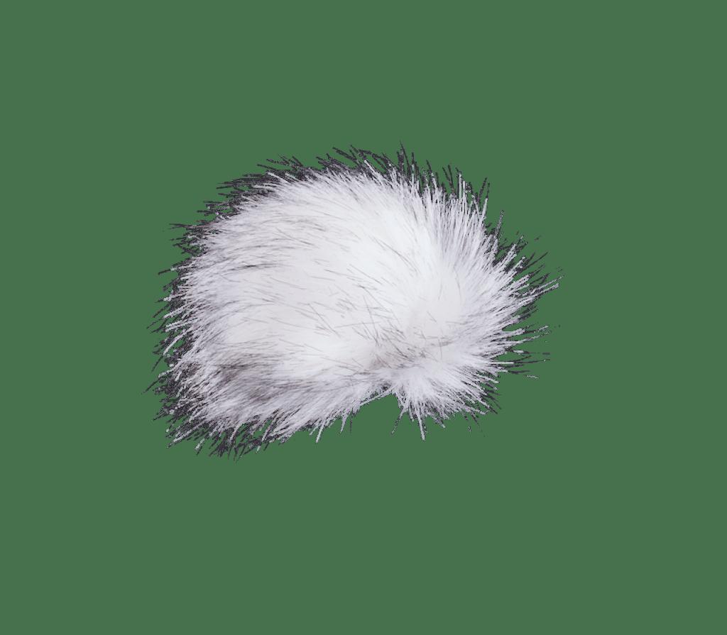 Bommel Kunstfell (Kunstfell weiß)
